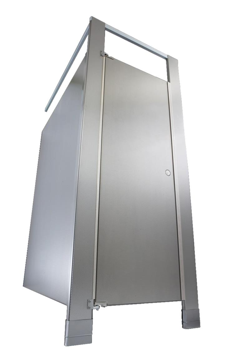 Hadrian | Elite Stainless Steel Toilet Cubicles | Relcross