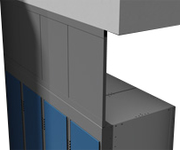 Hadrian | Lockers - Plenum Panels | Relcross